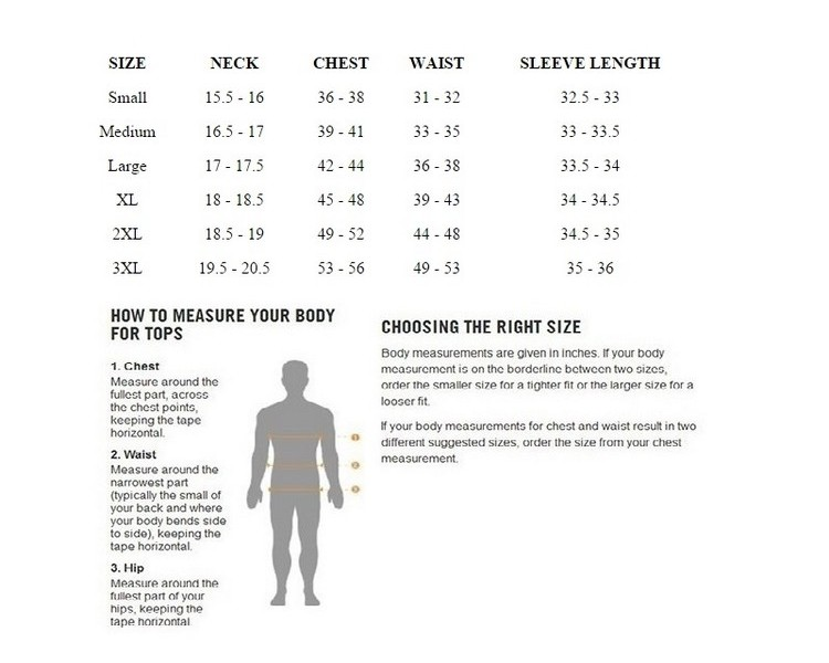 Cutter & Buck Women's Outwear Size Chart