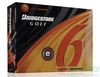 New Bridgestone E6 Orange New Dozen Golf Balls