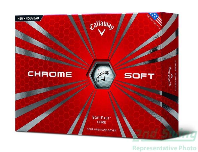 Callaway chrome soft golf balls nd swing
