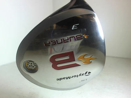Mint TaylorMade 2008 Burner Fairway Wood 3-Wood 3W 15 Graphite Senior Left