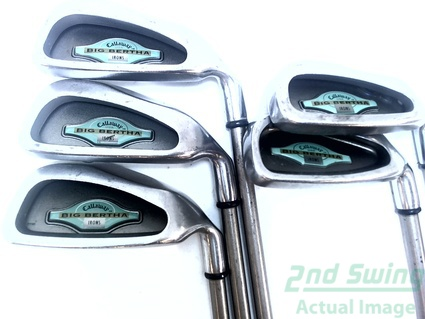 Callaway 1994 Big Bertha Iron Set 6-PW Graphite Ladies Right