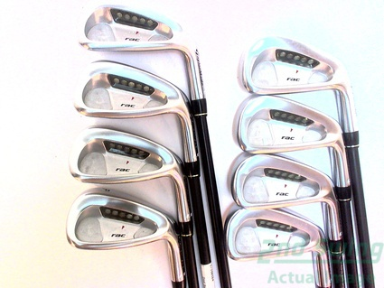 TaylorMade Rac LT 2005 Iron Set 3-PW Graphite Regular Right 38 in
