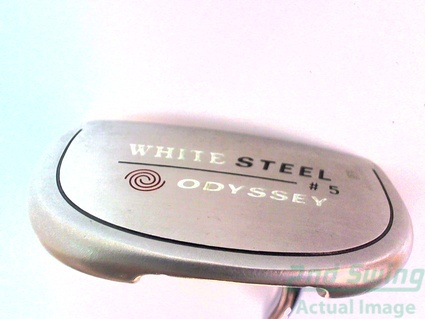 Odyssey White Steel 5 Putter Putter Steel Right 35.5 in