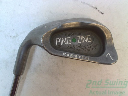 Ping Zing Single Iron 7 Iron Steel Stiff Left