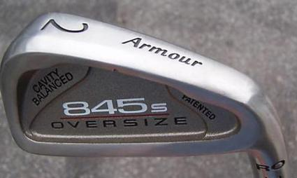 Tommy Armour 845S Oversize RO Single Iron