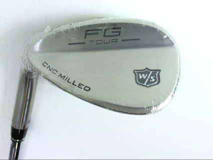 New Wilson FG Tour Milled Wedge Sand SW 56 Steel Wedge Left
