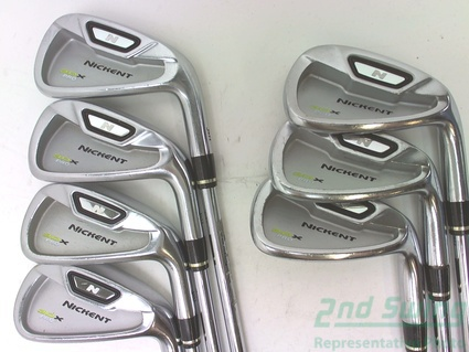 Nickent 3DX Pro Iron Set 4-PW Steel Stiff Right