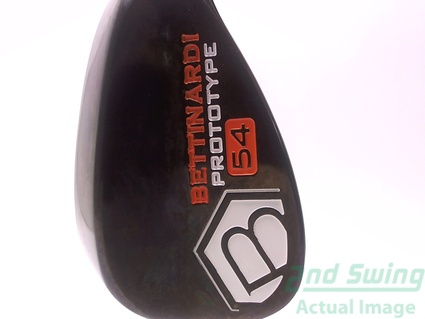 Mint Bettinardi White Hex Prototype Wedge Sand SW 54 Steel Wedge Flex Right