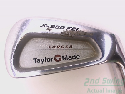 TaylorMade X-300 FCI Single Iron 5 Iron Steel X-Stiff Right