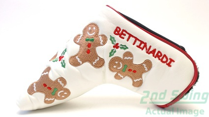 Mint Bettinardi Gingerbread Man Headcover Putter