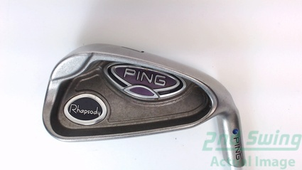 Ping Rhapsody Single Iron 7 Iron Graphite Ladies Right Blue Dot