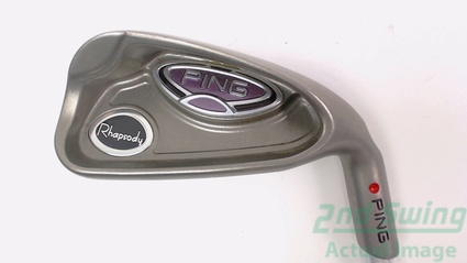 Ping Rhapsody Single Iron 7 Iron Graphite Ladies Right Red dot