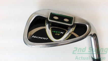 Nickent 4DX Cavity Back Single Iron Pitching PW Steel Wedge Flex Right