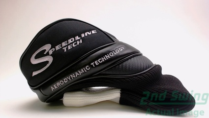 Adams Speedline Tech Driver Headcover Mint Black/White