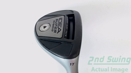 Adams 2012 Idea Super 2-Hybrid 2H 17.0° Graphite Stiff Right Handed 41.00 Inches