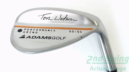 Adams 2012 Watson Performance Grind Lob LW 60.00 Degrees 4 Deg Bounce Steel Wedge Flex Right Handed 35.00 Inches