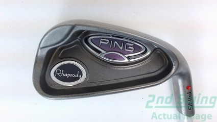 Ping Rhapsody 7 Iron Graphite Ladies Right Handed 36.25 Inches Red dot
