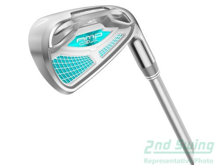 New Cobra Amp Cell Womens Blue 6 Piece Iron Set