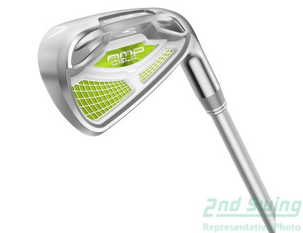 New Cobra Amp Cell Womens Green 7 Piece Iron Set