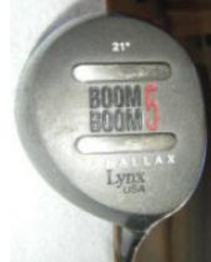 Lynx Boom Boom Parallax Fairway Wood