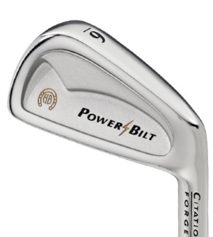 Powerbilt Citation Forged Iron Set
