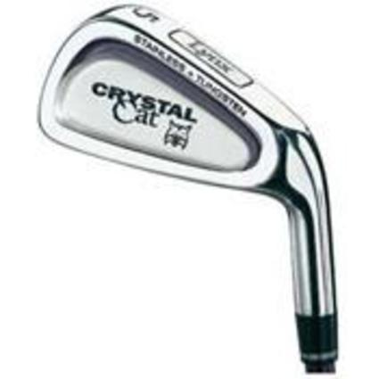Lynx Crystal Cat Iron Set