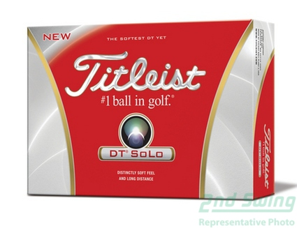 New Titleist DT SoLo New Golf Balls