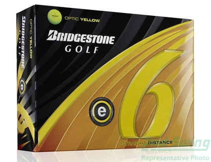 New Bridgestone E6 Yellow New Dozen Golf Balls