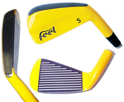 Feel Fly Yellow Single Iron