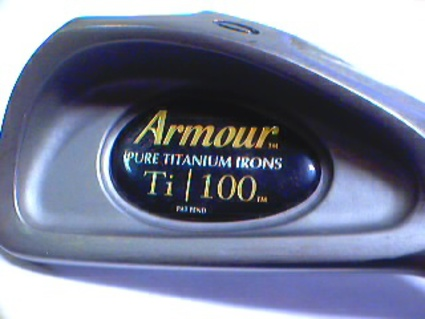Tommy Armour Titanium 100 Single Iron