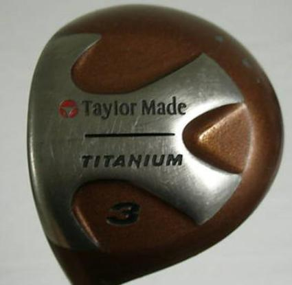TaylorMade Ti Bubble Fairway Wood