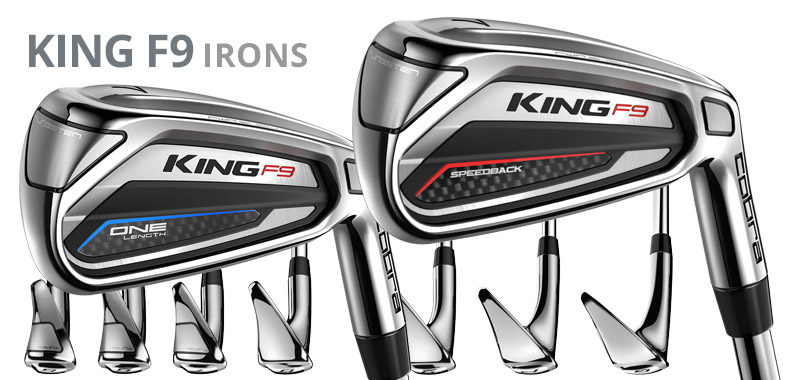 Cobra King F9 Irons