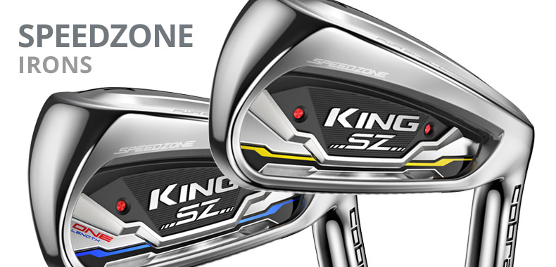 Cobra SpeedZone Irons