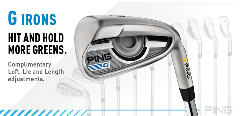 Ping G Series Irons