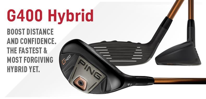 Ping G400 Hybrids