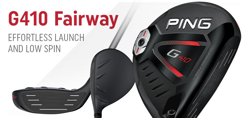 Ping G410 Fairway Woods