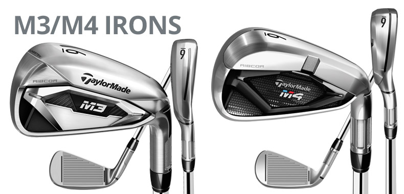 TaylorMade M3/M4 Irons