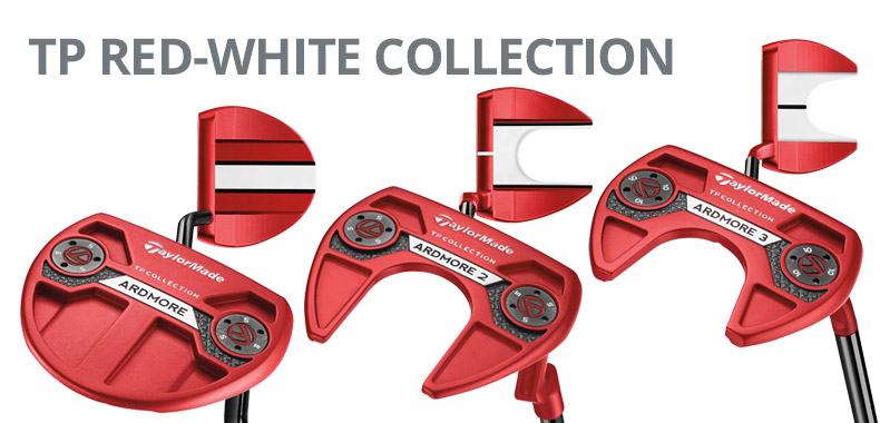 TaylorMade TP Red-White Collection
