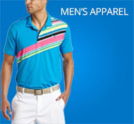 mens golf apparel