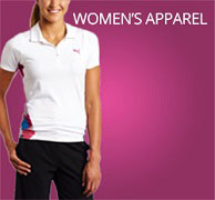 ladies golf apparel and womens golf clothing