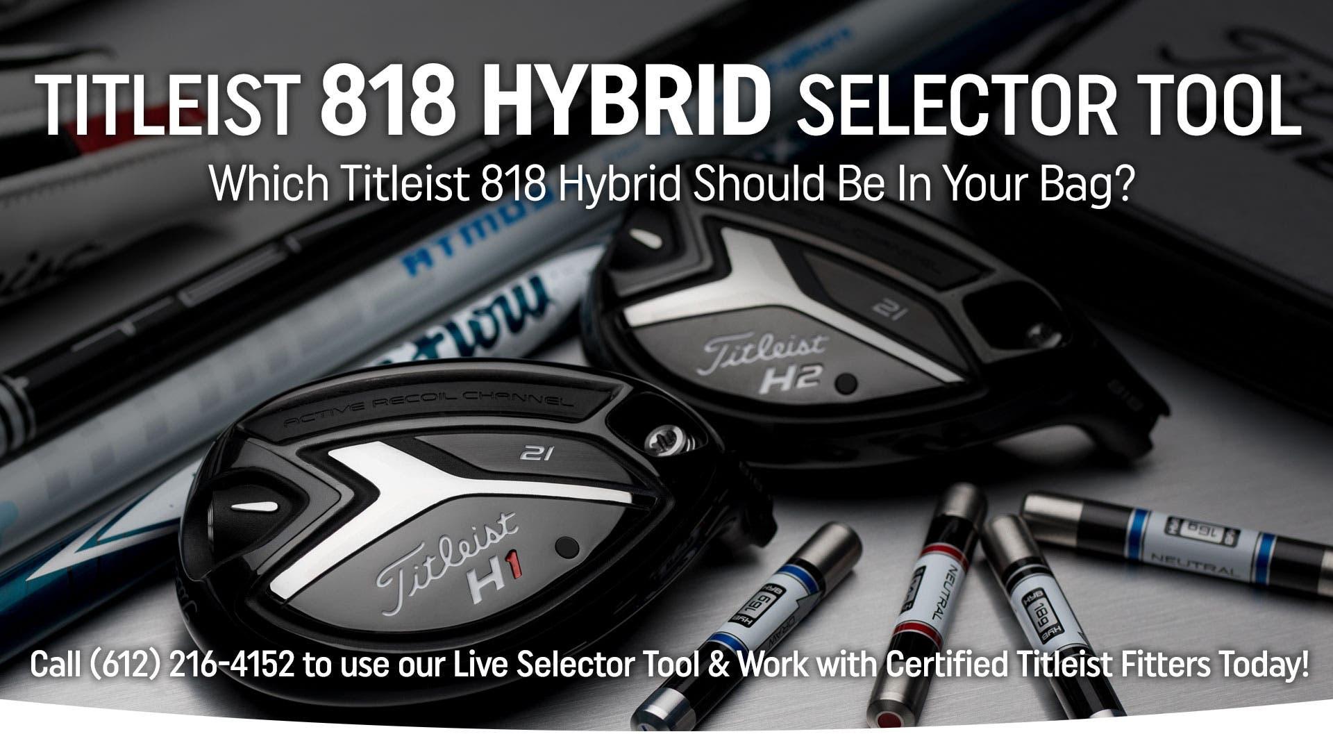 Titleist 818 Hybrids