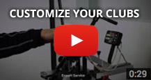 customize your clubs video