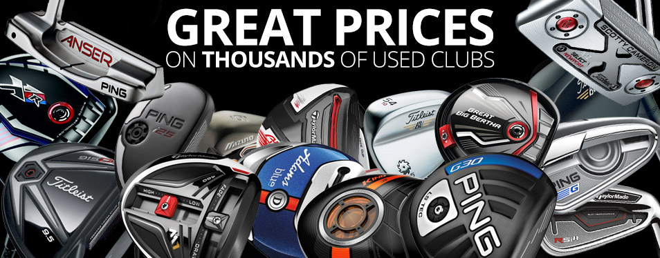 Great Prices on Thousands of Clubs