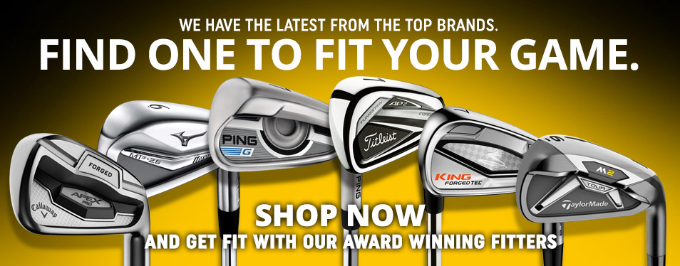 Latest Iron Sets and other Golf Clubs