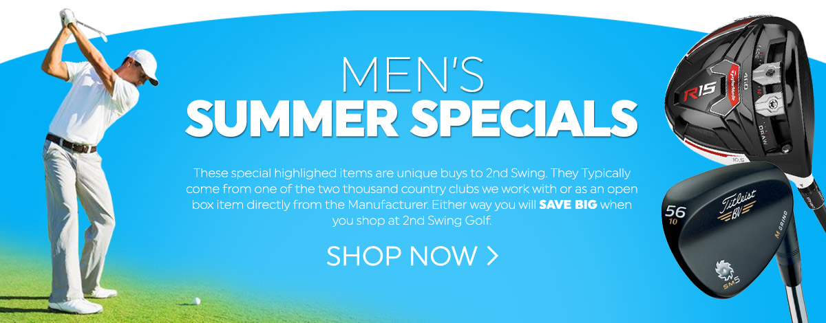 Shop our new Summer Specials