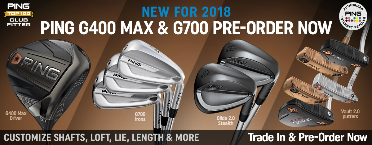 Pre-Order the new clubs from PING