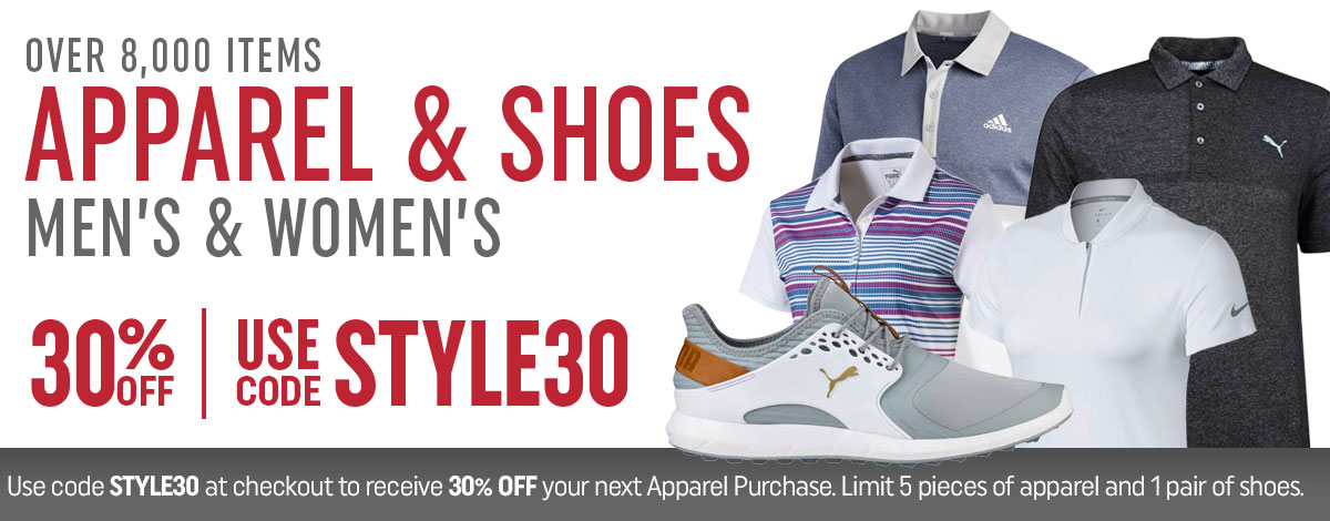 Apparel and Shoes Sale