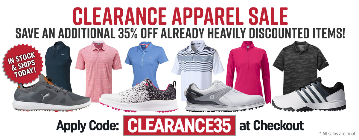 35 OFF Apparel and Shoes