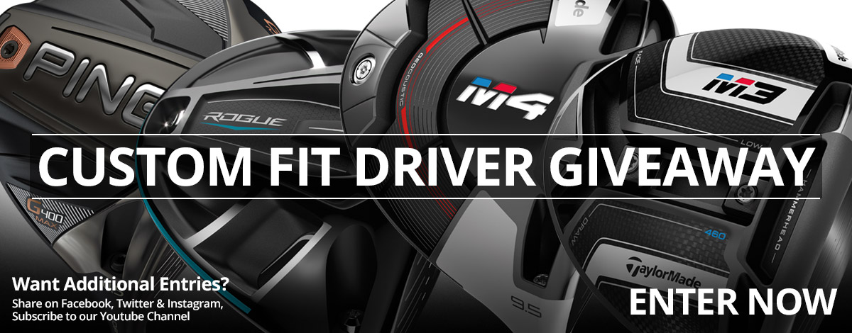 Enter to Win a Custom Fit Driver