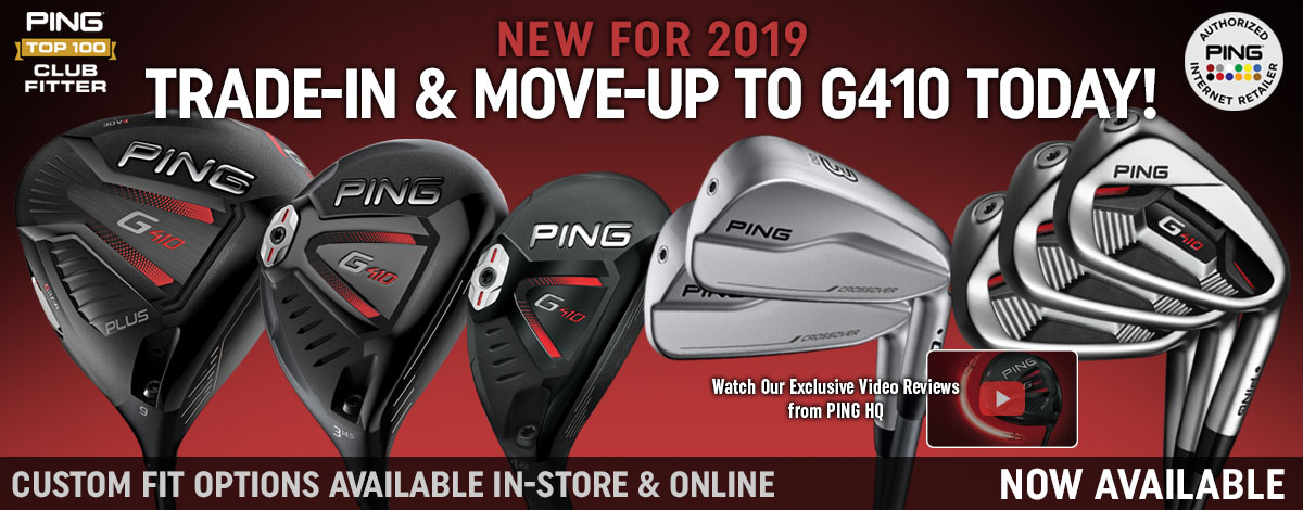 New PING G410 Clubs